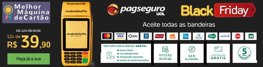 Moderninha Pro PagSeguro Oferta Black Friday - Clique e compre com desconto