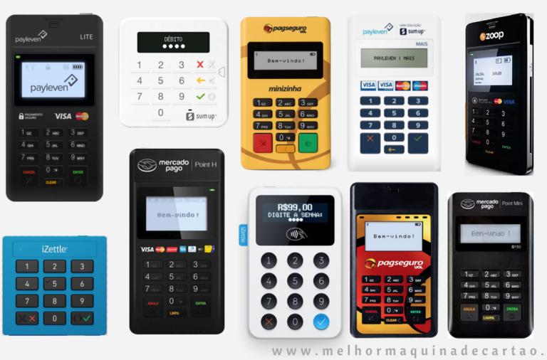 be58e5fc3 10 Melhores Máquinas de Cartões com App [Android/iOS] Guia Completo