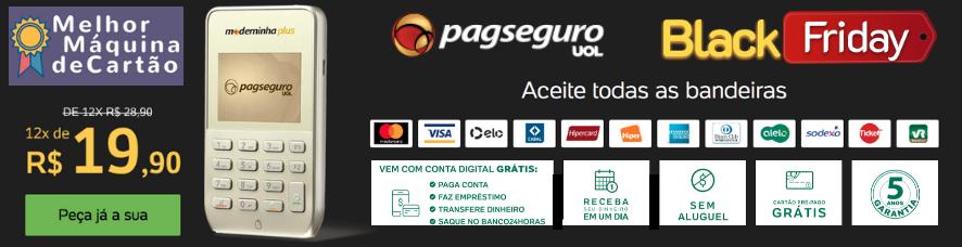 Moderninha Plus PagSeguro Oferta Black Friday - Clique e compre com desconto