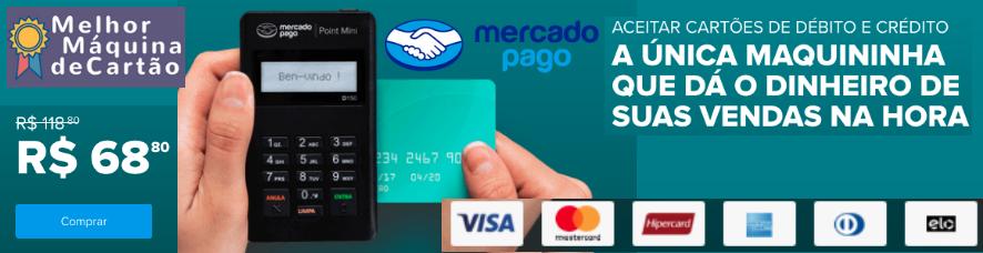 Mercado pago Point Mini - Oferta Black Friday - Clique e peque o desconto