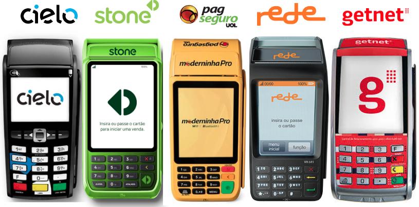 26d864abb Maiores Adquirentes do Brasil: Cielo Stone PagSeguro Rede e Getnet