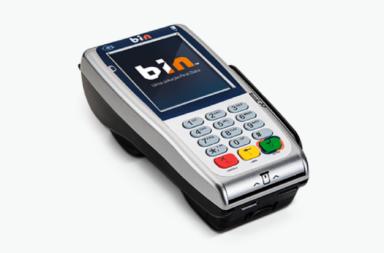 BIN - Máquina de Cartão com Chip