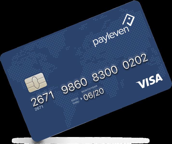 Cartão Payleven - Pré-Pago Visa