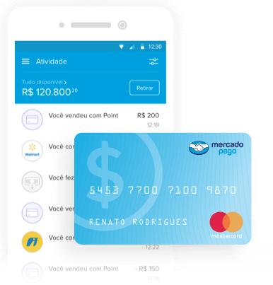 App Cartão Pré-Pago Mercado Pago