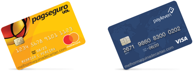 Cartão Pré-Pago PagSeguro x Payleven