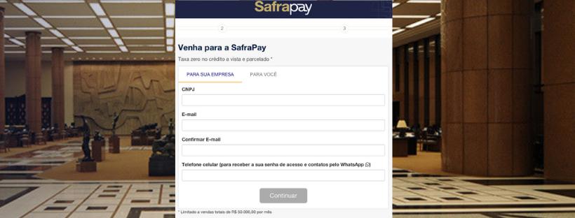 Comprar Máquina de cartões SafraPay