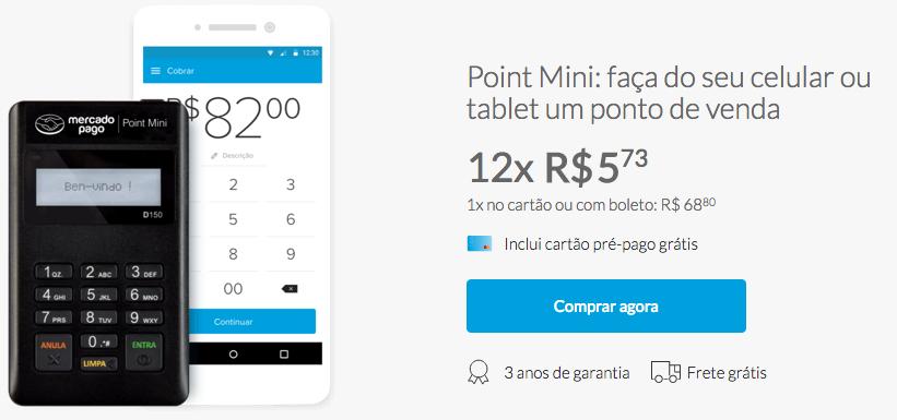 Comprar Point Mini com Desconto - Mercado Pago