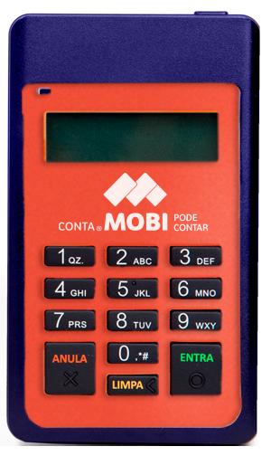 Conta Mobi - Maquininha de Cartões