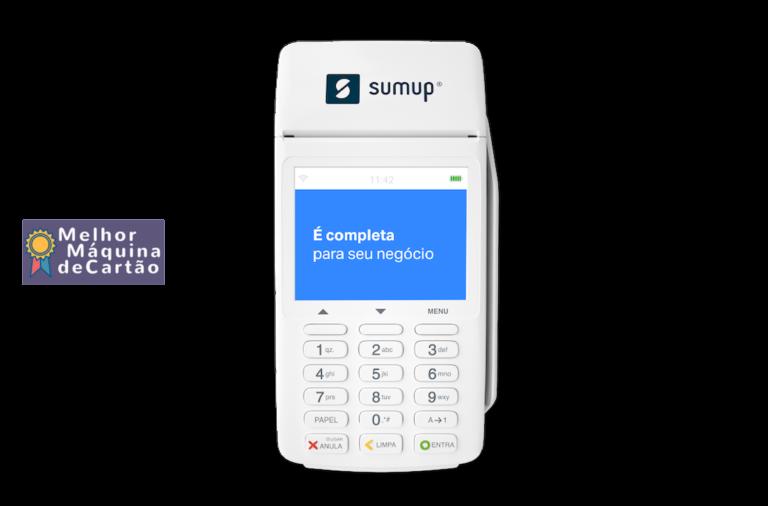 SumUp Total Máquina Comprovantes em Papel, Chip 3G e WiFi