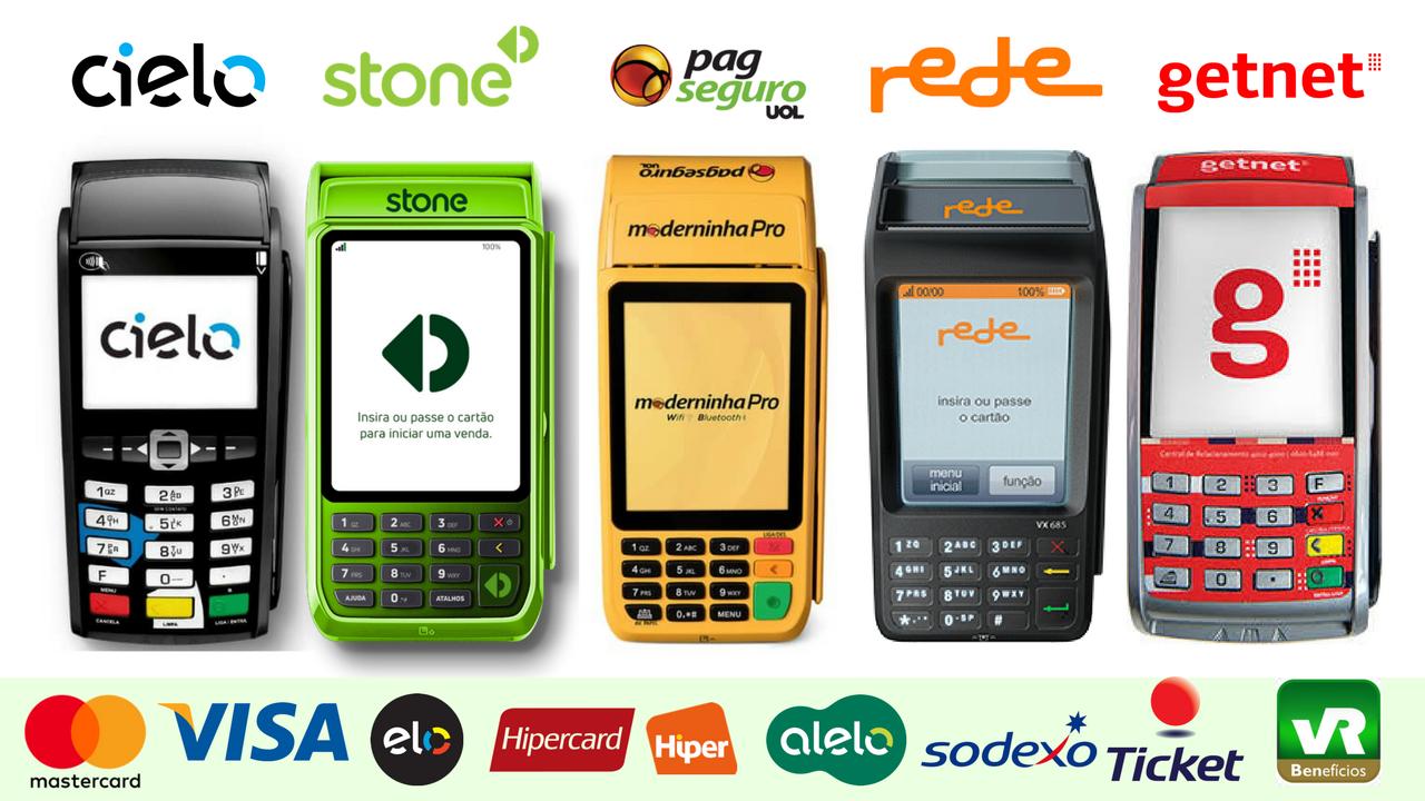 db85857cf Cielo, Rede, Getnet, PagSeguro e Stone: Quem Aceita Mais Cartões?