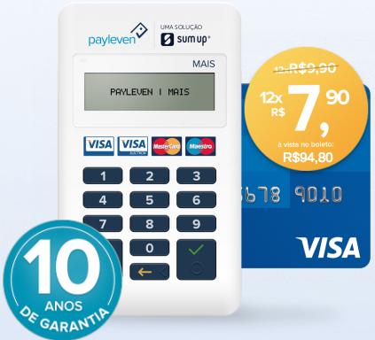 Máquinas de cartão Black Friday - Payleven mais