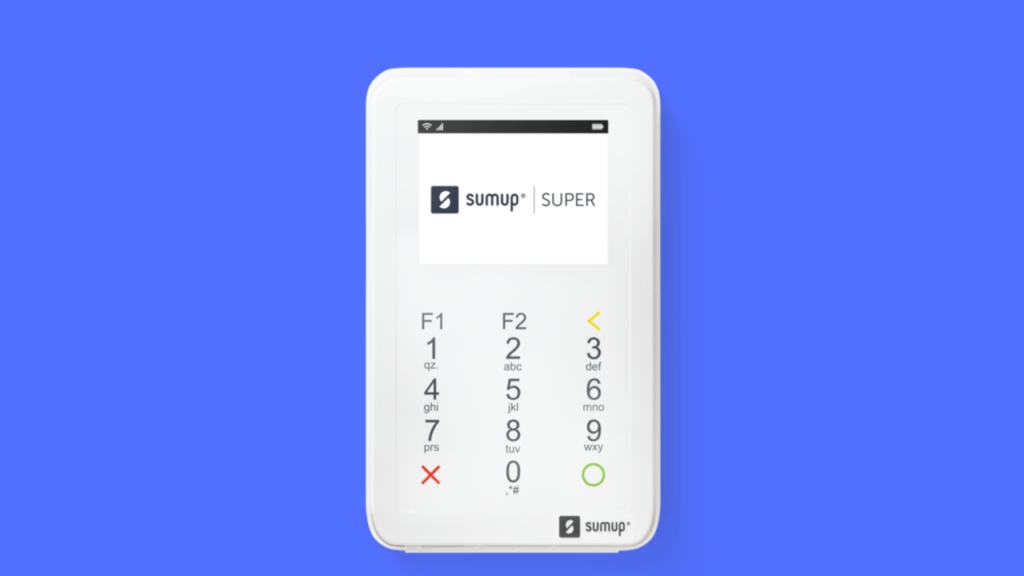 SumUp Super Máquina de cartões sem celular