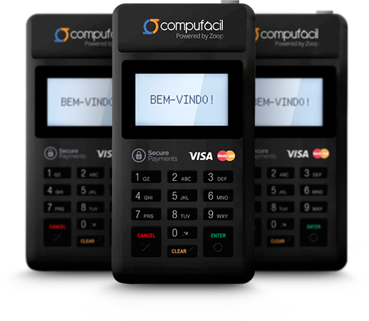 Compufácil Maquininha de Cartões - Compufour