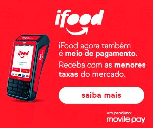 Maquininha iFood Ultra Banner