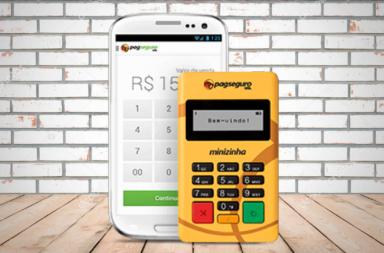 Minizinha PagSeguro Melhor Maquininha de Cartões pelo App