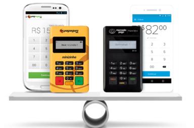 Minizinha ou Point Mini - Comparativo de Maquininha Taxas Preços
