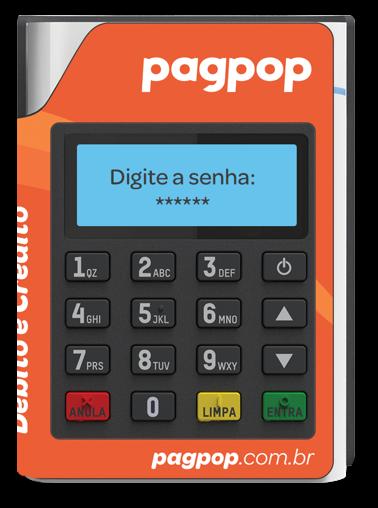 Mobi Pin 10 - Maquininha PagPop