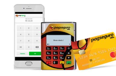 Mobi Pin da da PagSeguto Passa Elo, Visa, Master e outros cartões
