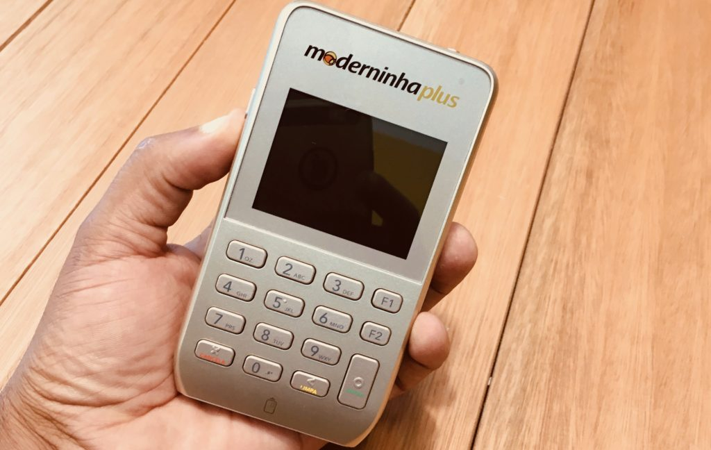 Moderninha Plus PagSeguro - Melhor Máquina de Cartão