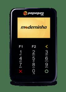 Elo Visa e Mastercard - Aceitos na Moderninha Wi-Fi PagSeguro