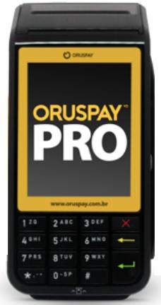 Oruspay Pro - Comprovante em papel