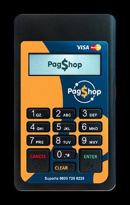 PagShop Maquininha de Cartões