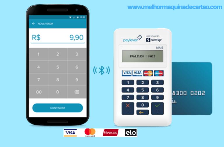 Payleven Mais - melhor Máquina de Cartão