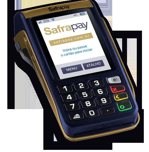 SafraPay - Máquina de Cartões Móvel