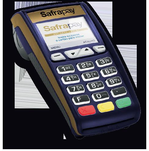 Safrapay - Máquina de Cartões Fixa