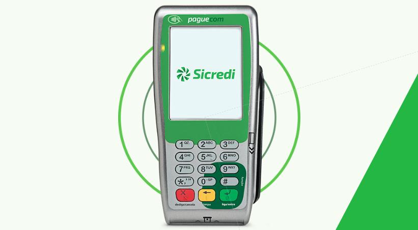 Sicredi Paguecom - Máquina de Cartões