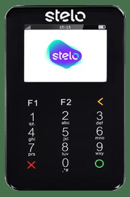 Stelo Mob - Maquininha com Chip e WiFi - comprovantes por SMS