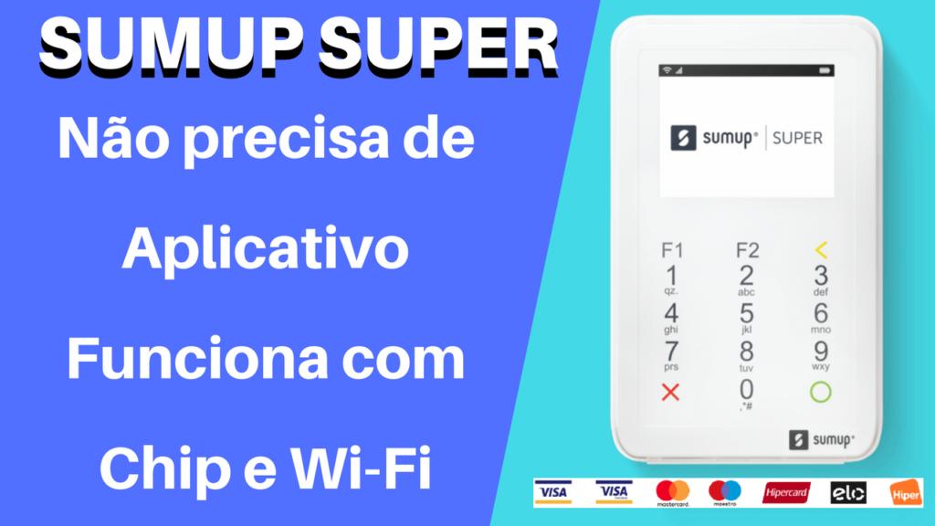 SumUp Super - Maquina GPRS e Wi-Fi